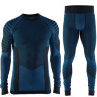 Мужской комплект CRAFT® Active Intensity Set Black/Sweden Blue